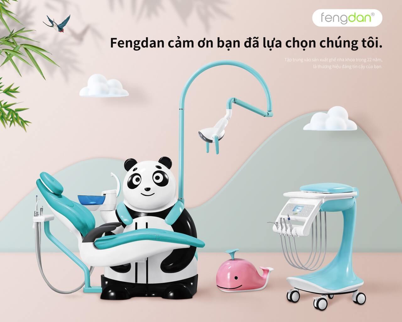 Ghế nha khoa Fengdan BZ639 Panda